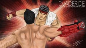 Street Fighter X Tekken – Jin VS Ryu