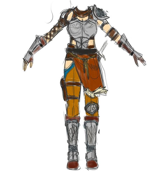 Freia - Armor Concept