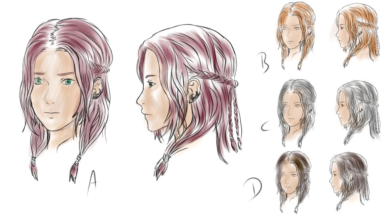 Freia - Head Concept