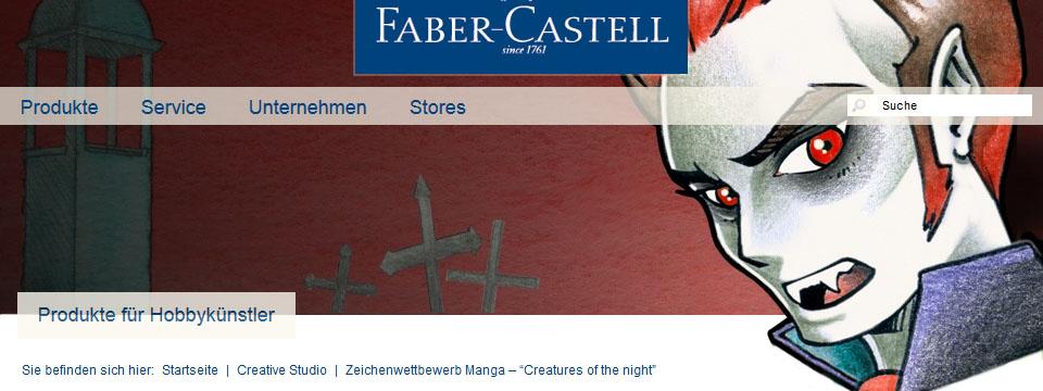 Faber-Castell – Zeichenwettbewerb