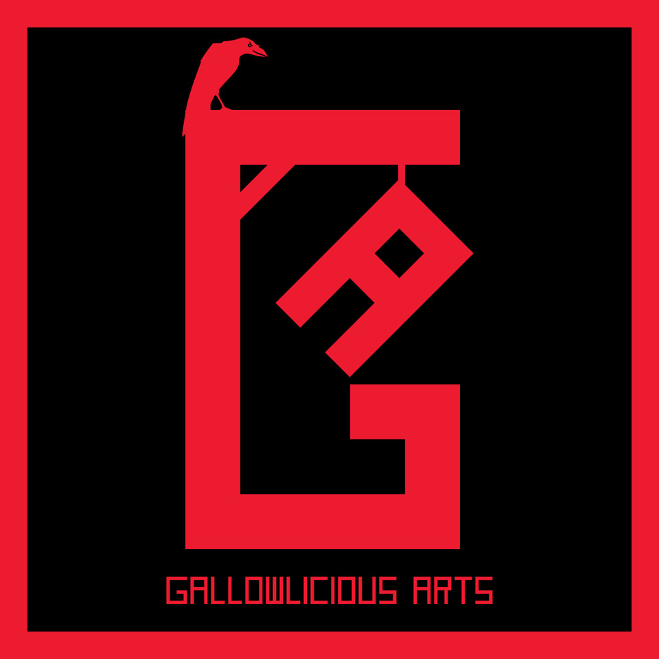 Gallowlicious Arts Logo Design