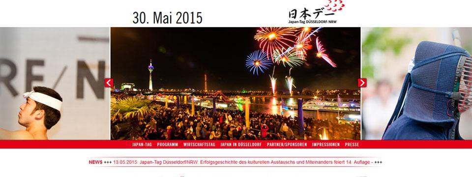 Japan-Tag 2015 in Düsseldorf
