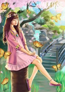 CSP 4th Drawing Contest – Personify Sakura