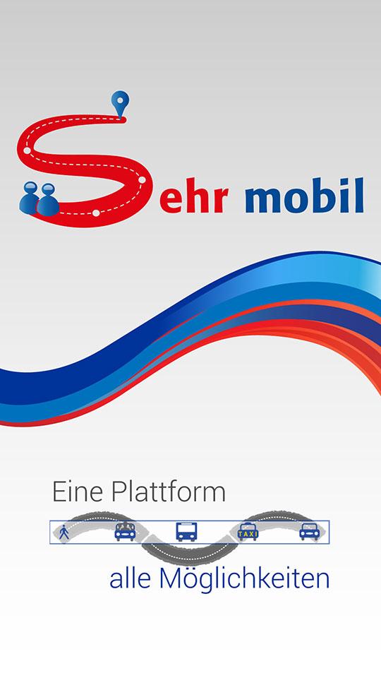 Sehr mobil – Splashscreen Designs